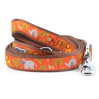 The Worthy Dog Leash, Zoofari, Small (5/8-in)
