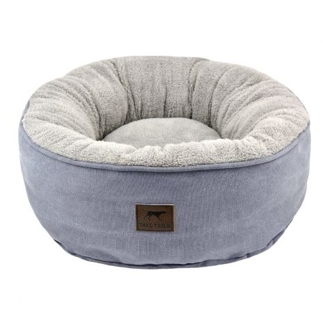Tall Tails Dream Chaser Donut Dog Bed, Charcoal, Small