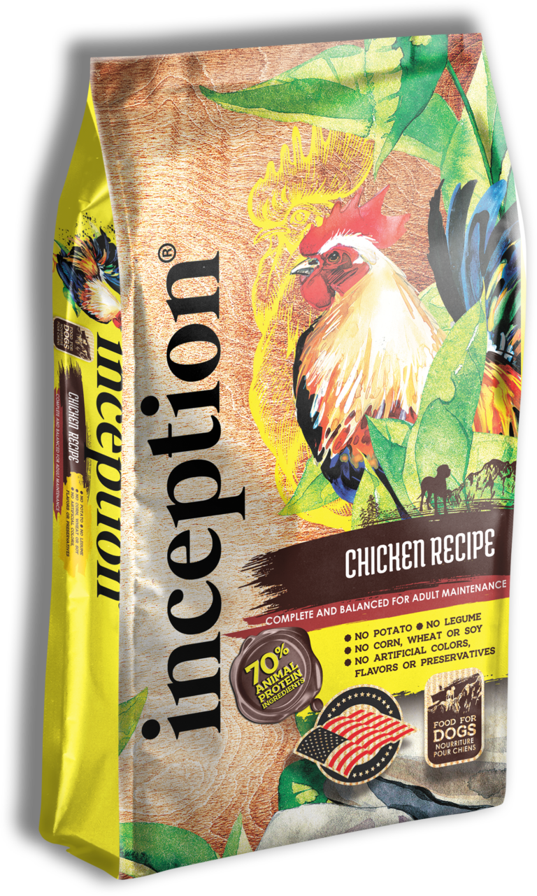 Inception Chicken Recipe Whole Grain Dry Dog Food, 27-lb bag