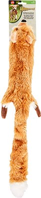 Ethical Pet Skinneeez Forest Series Fox Stuffingless Dog Toy