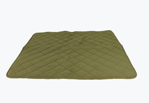 Carolina Pet Company Quilt Microfiber and Sherpa Throw Dog Blanket, Sage, 48-in x 54-in