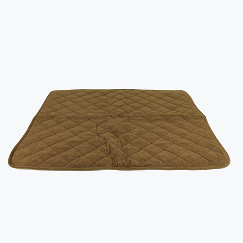 Carolina Pet Company Quilt Microfiber and Sherpa Throw Dog Blanket, Chocolate, 48-in x 54-in