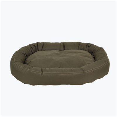 Carolina Pet Company Brutus Tuff Comfy Cup Dog Bed, Olive, 36-in x 32-in x 6-in