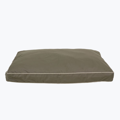 Carolina Pet Company Classic Canvas Rectangle Jamison Dog Bed, Sage, 27-in x 36-in x 4-in