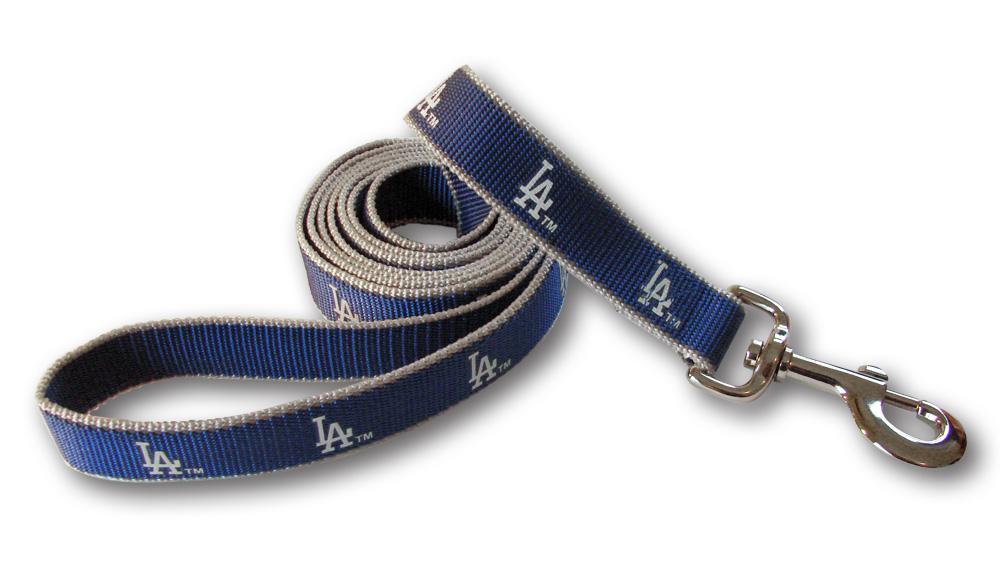 Sporty K9 Reflective Dog Leash, Los Angeles Dodgers, Medium/Large