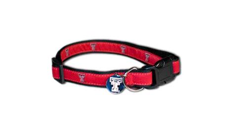 Sporty K9 Dog Collar, Texas Tech, Small