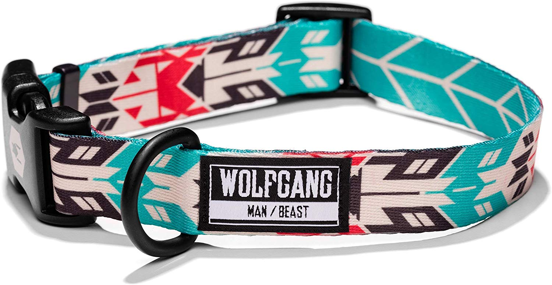 Wolfgang FurTrader Dog Collar, Medium (1-in x 12-18-in)