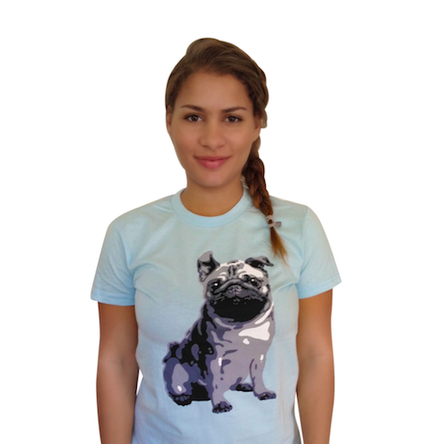 The Dog Squad T-Shirt for Humans, Pug