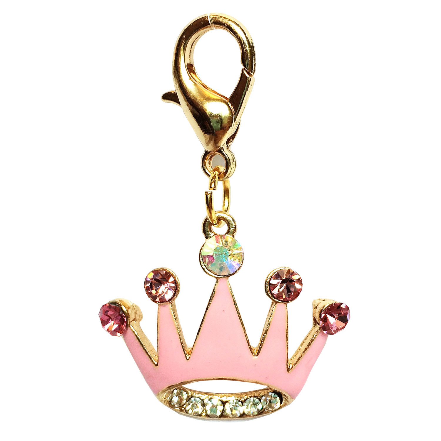 The Dog Squad Clip-On Collar Charms, Princess Crown