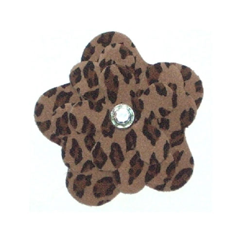The Dog Squad Garden Flower Collar Sliders, Leopard