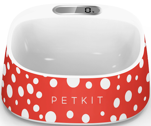 PETKIT Fresh Smart Digital Pet Bowl, Red/White