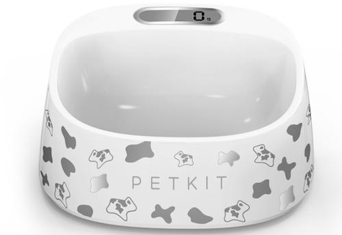 PETKIT Fresh Smart Digital Pet Bowl, Black/White Pattern