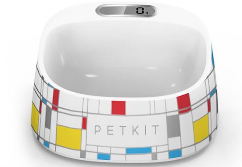 PETKIT Fresh Smart Digital Pet Bowl, Brick Pattern