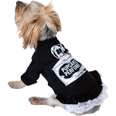 The Dog Squad Shirt, Vintage Perfume, Black, Large
