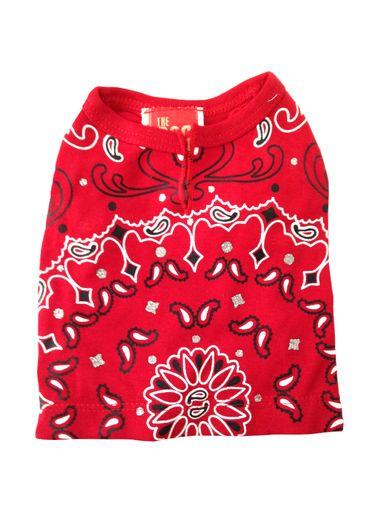 The Dog Squad T-Shirt, Bandana Red, X-Small