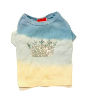 The Dog Squad T-Shirt, Dippy Crown Sky Blue, Medium