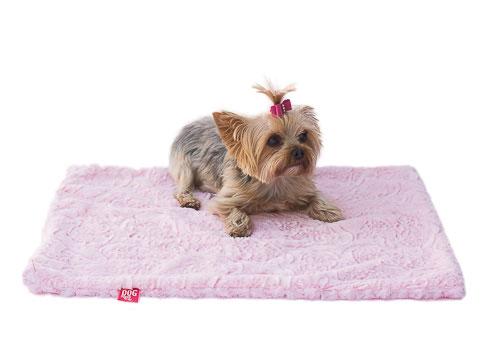 The Dog Squad Minkie Binkie Blanket, Pink Paisley, Large