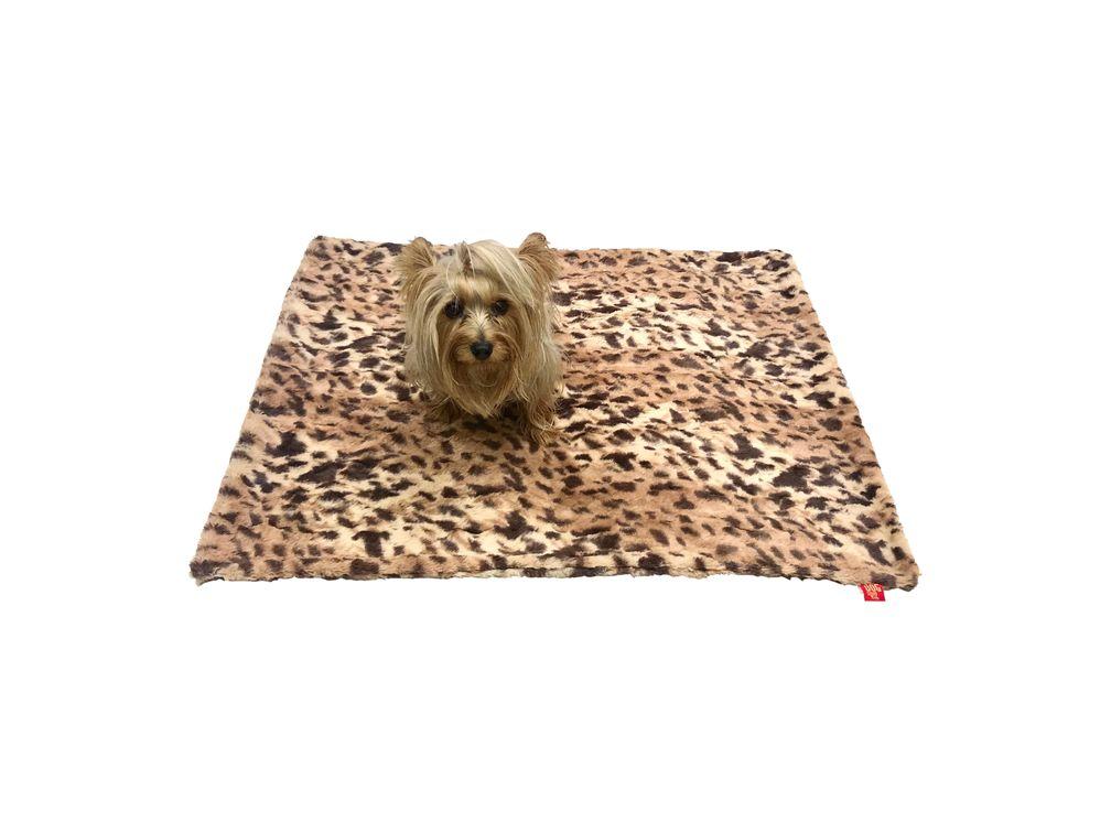 The Dog Squad Minkie Binkie Blanket, King Leopard, 20-in x 30-in