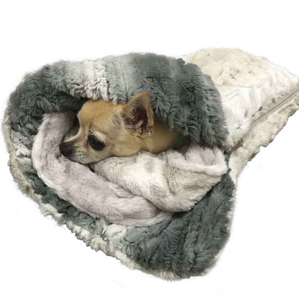The Dog Squad Sleeping Bag, Frosted Snow Leopard