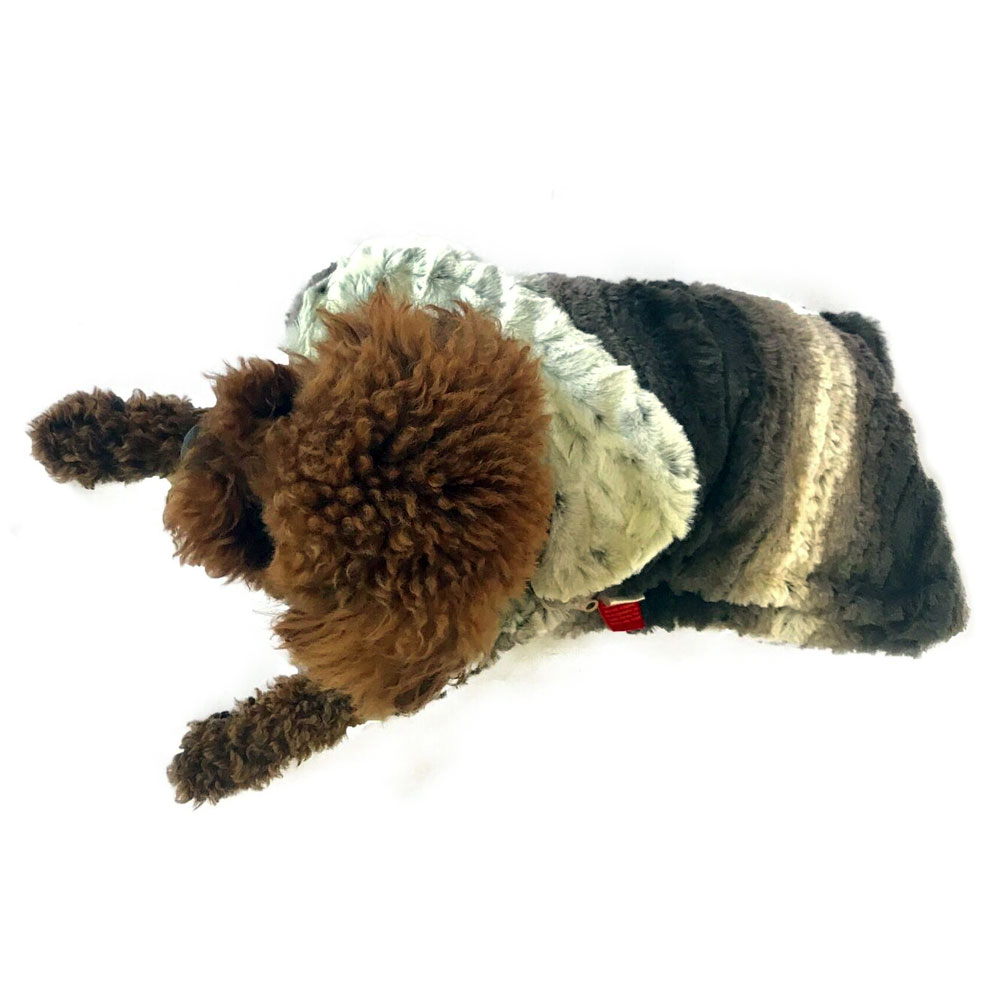 The Dog Squad Sleeping Bag, Dark Brown Ombre