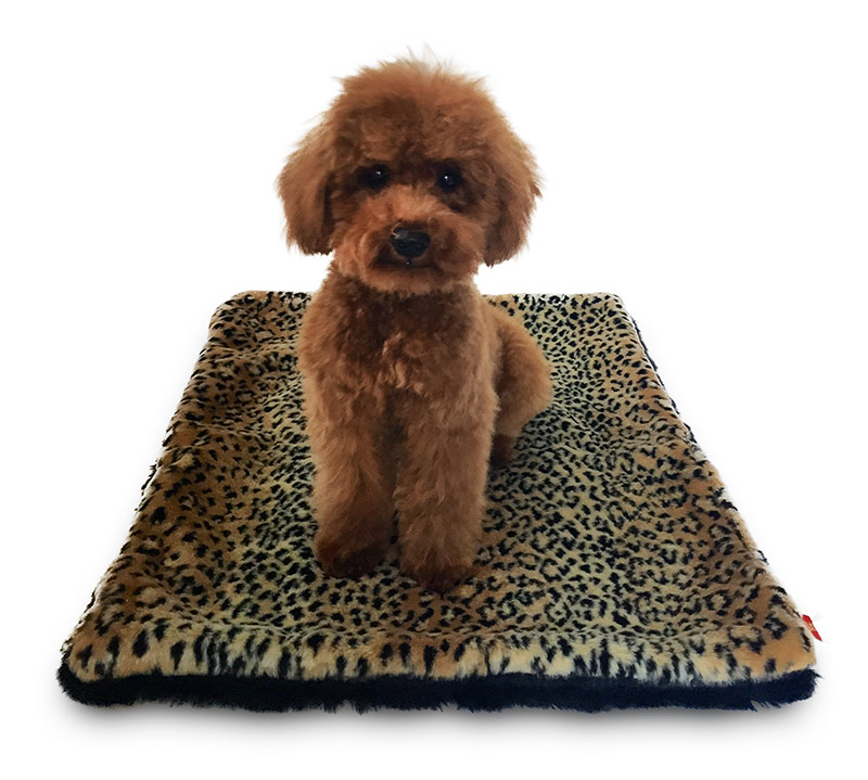The Dog Squad Plush Magic Mat, Brown Linx, Medium