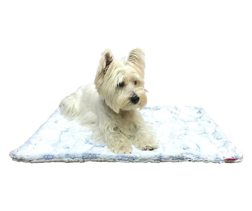 The Dog Squad Blanket, Cornflower, Small