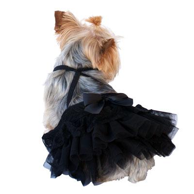 The Dog Squad Skirt, Cinema Black, X-Small