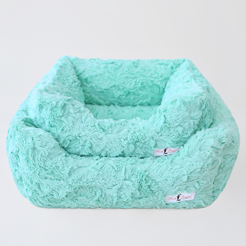 Hello Doggie Bella Dog Bed, Mint, Large