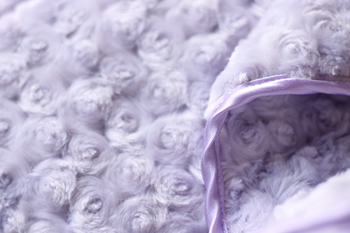 Hello Doggie Rosebud Dog Blanket, Lilac, Small