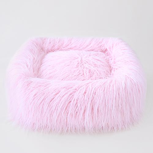 Hello Doggie Himalayan Yak Dog Bed, Ballerina Pink