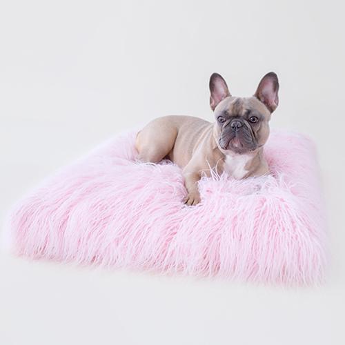 Hello Doggie Himalayan Yak Dog Mat, Ballerina Pink