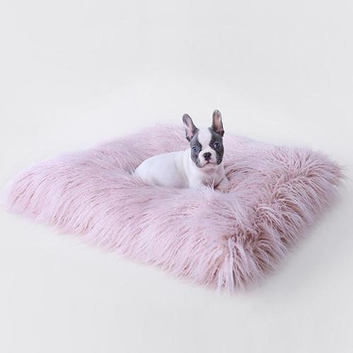 Hello Doggie Himalayan Yak Dog Mat, Blush