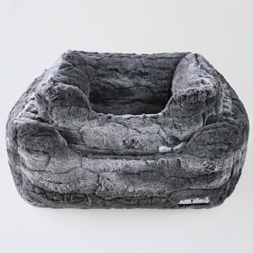 Deluxe Dog Bed, Granite, Large