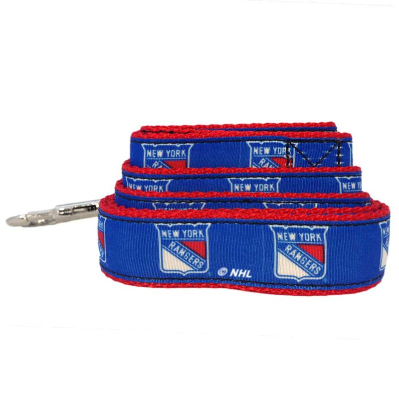 All Star Dogs New York Rangers Ribbon Dog Leash