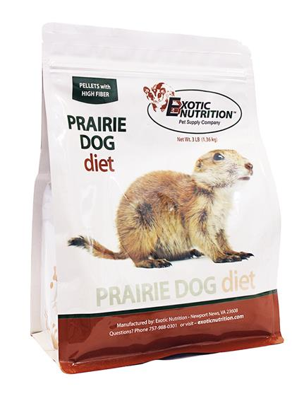 Exotic Nutrition Prairie Dog Diet, 3-lb