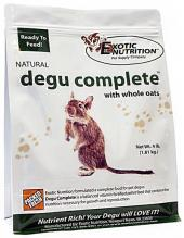 Exotic Nutrition Natural Degu Complete with Whole Oats, 4-lb