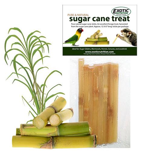 Exotic Nutrition Sugar Cane Sticks Sugar Glider Treats