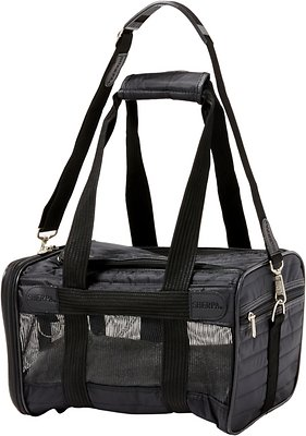 Sherpa Original Deluxe Pet Carrier, Black, Small