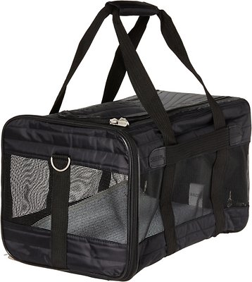 Sherpa Original Deluxe Pet Carrier, Black, Large