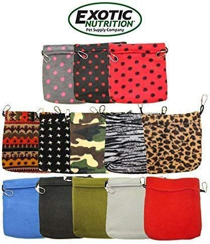 Exotic Nutrition Small Animal Snuggle Pouch, Color Varies