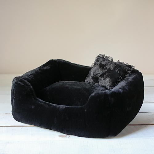Hello Doggie The Divine Dog Bed, Black
