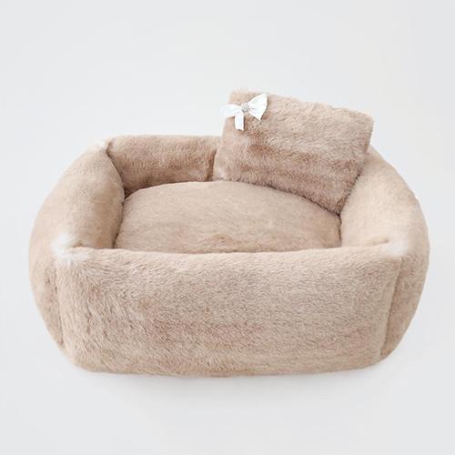 Hello Doggie Teddy Bear Dog Bed, Large