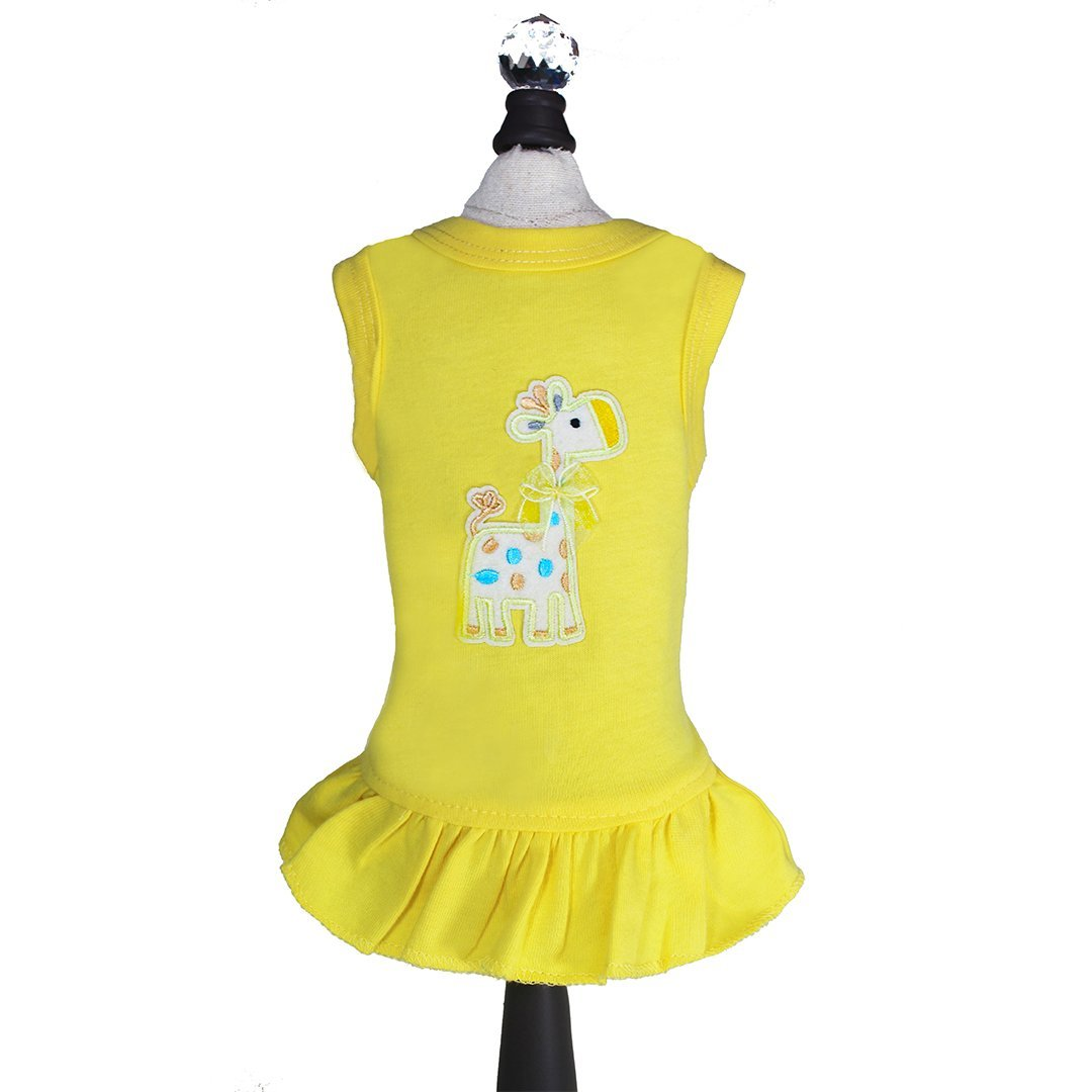 Hello Doggie Dress, Baby Safari, XX-Small