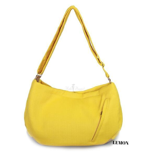 Hello Doggie Vienna Sling Bag, Lemon