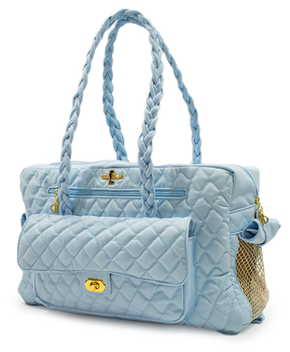 Hello Doggie Porsha Carrier, Baby Blue, Small