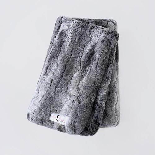 Hello Doggie Deluxe Dog Blanket, Granite, Large