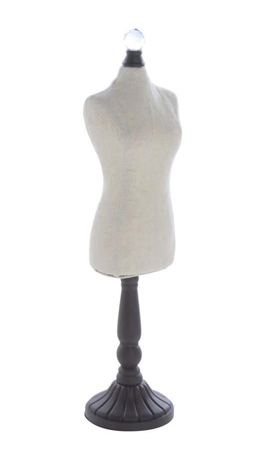 Hello Doggie Linen Dress Form, Cream