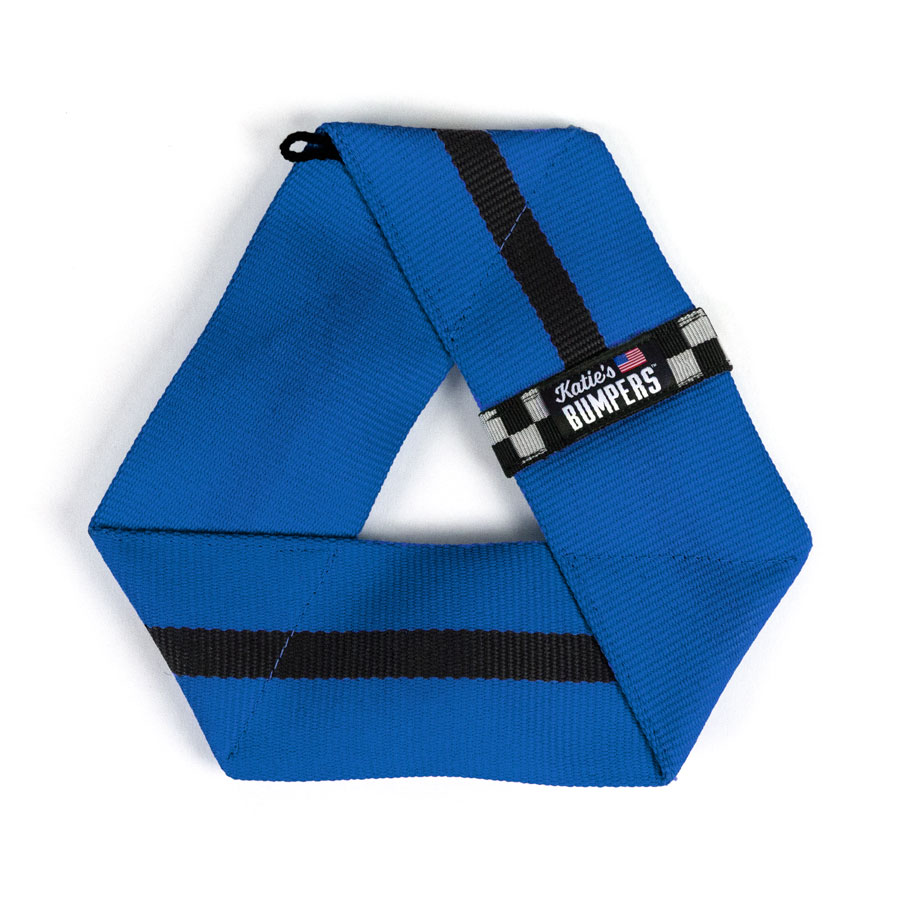 Katie's Bumpers Frequent Flyer Triangle Firehouse Dog Toy, Blue