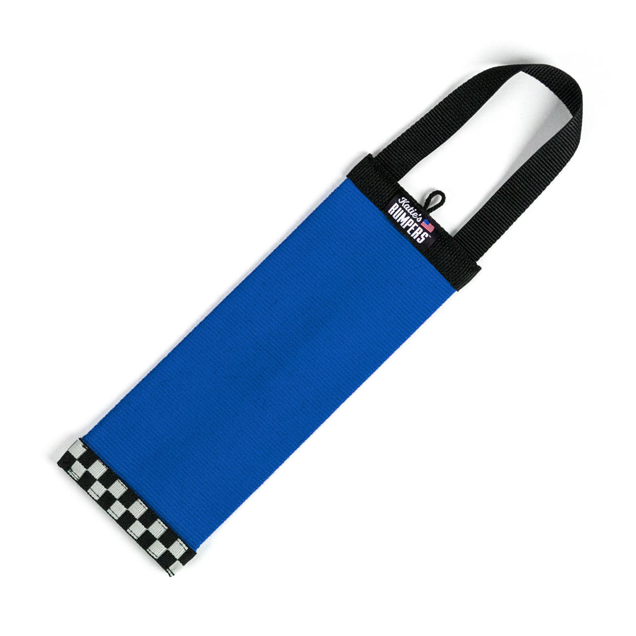 Katie's Bumpers Bottle Tracker Firehouse Dog Toy, Blue