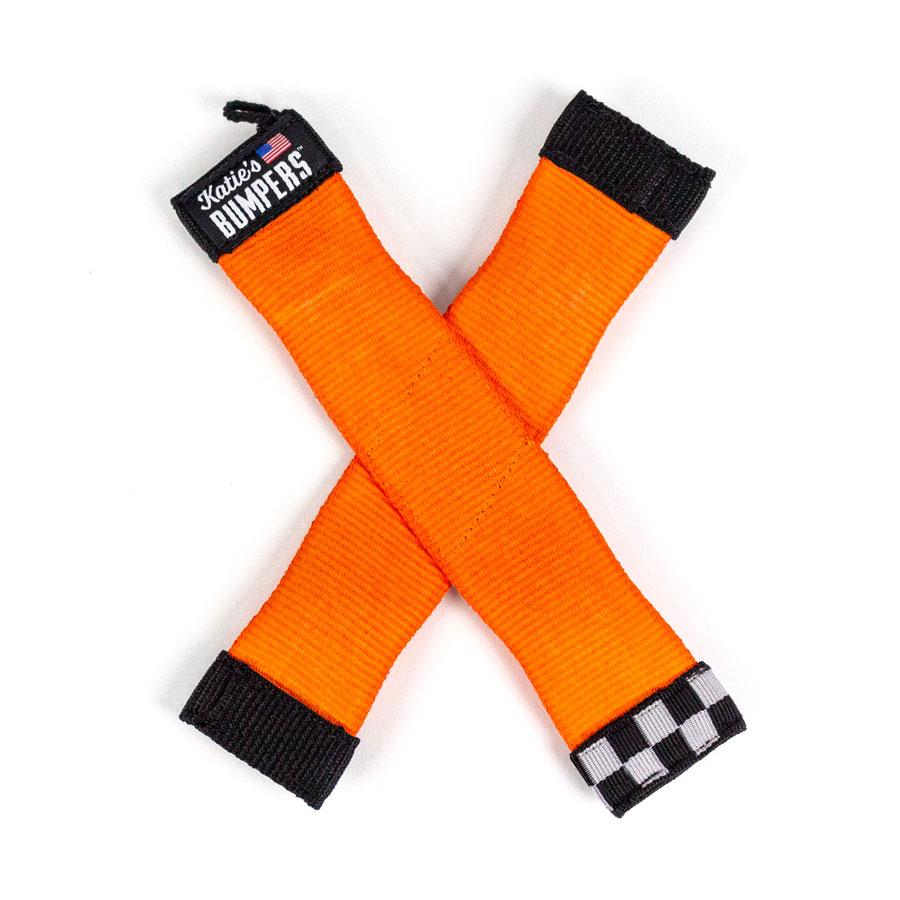 Katie's Bumpers X Firehouse Dog Toy, Orange